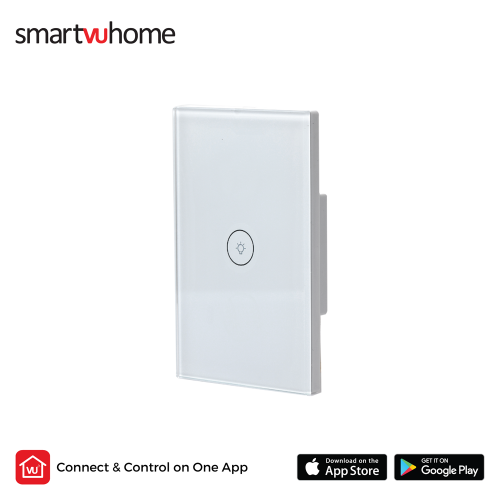 SmartVU Home™ Smart Touch Light Switch - Single