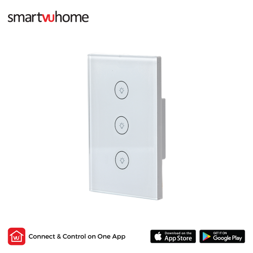 SmartVU Home™ Smart Touch Light Switch - Triple